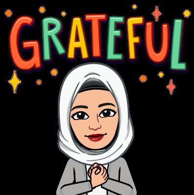 Grateful Emoji for Fresh Graduate