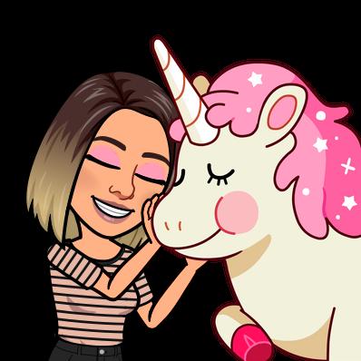 petting mr. unicorn