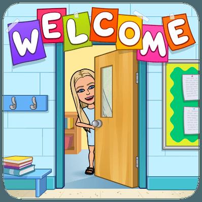 welcome classroom