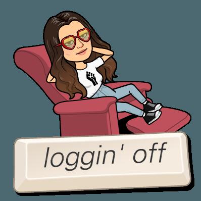 loggin off