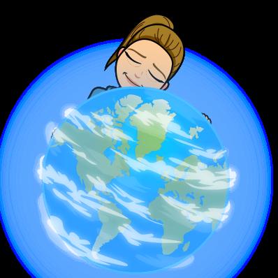 hugging earth