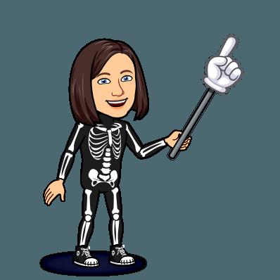 hand pointer skeleton