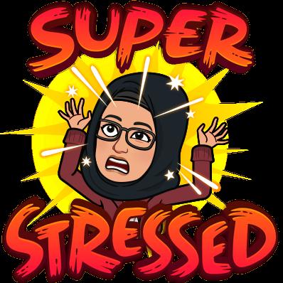 super stressed