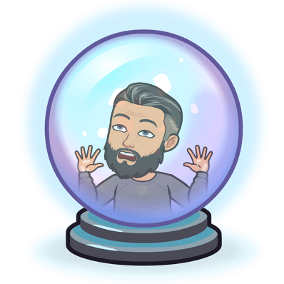trapped in a crystal ball