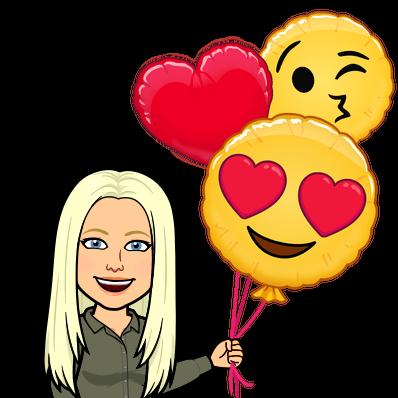 love emoji balloons