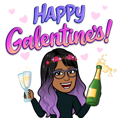 happy galentines