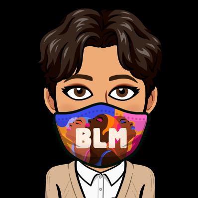 b l m face mask