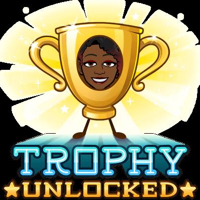 trophy unlocked