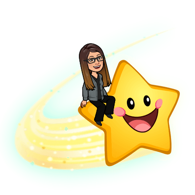 riding a smiling star